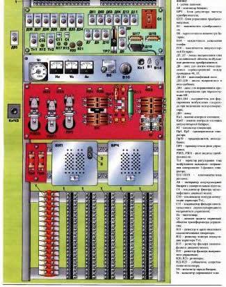 Электрическое описание схемы электропоезда эр2т.