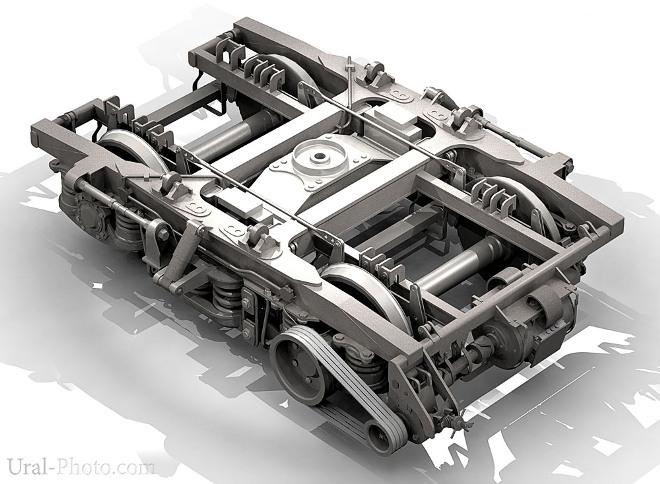 Тележки пассажирских вагонов