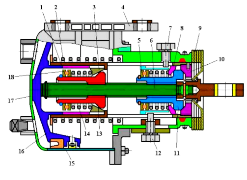 Тормозной цилиндр ТЦР-3